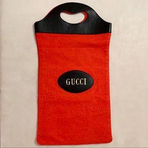 Very RARE Gucci Small Wool Tote Handbag